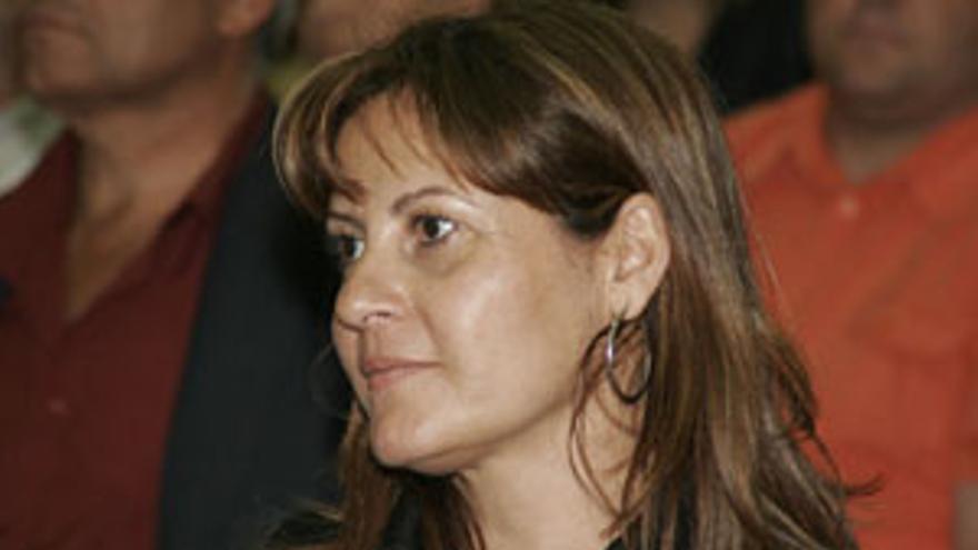 Claudina Morales, presidenta de Coalición Canaria. (CANARIAS AHORA)