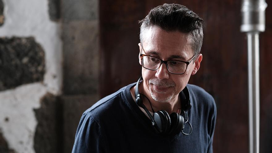 El escritor, director y guionista canario Elio Quiroga