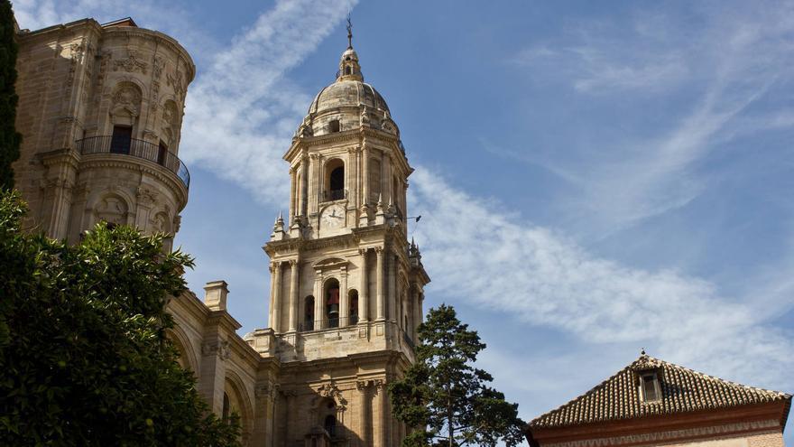 Torres de la Catedral de Málaga.