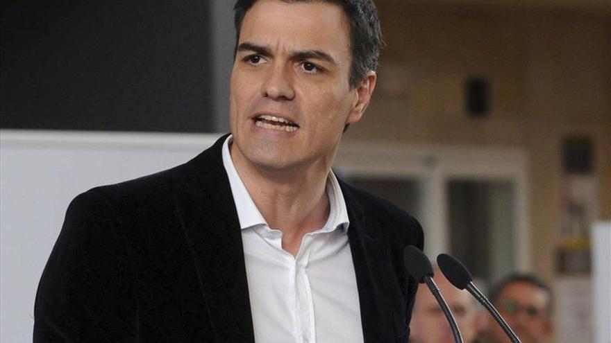 Sánchez asegura que la recuperación solo será posible si se devuelven los derechos robados