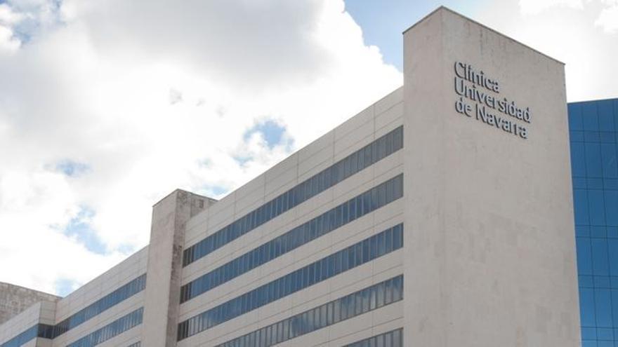 Vista de la Clínica Universitaria de Navarra.