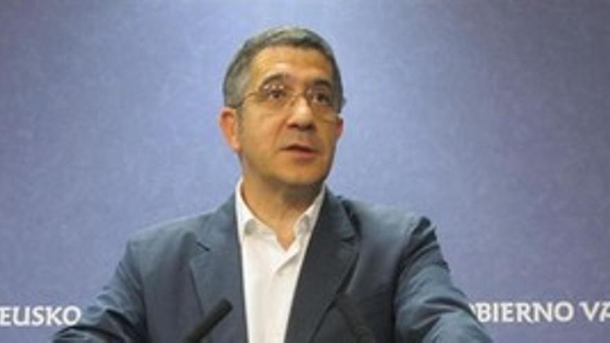 Patxi López, presidente del País Vasco. (EUROPA PRESS)