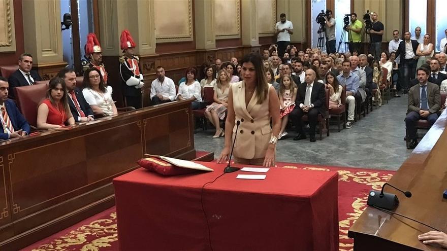 La concejala de Ciudadanos Matilde Zambudio.