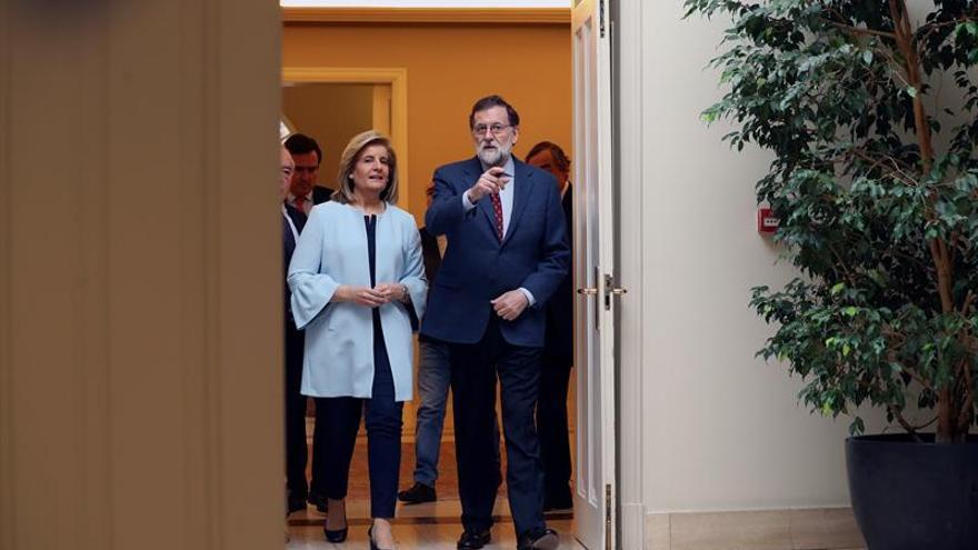 Rajoy reafirma el compromiso del Gobierno con el empleo estable y de calidad