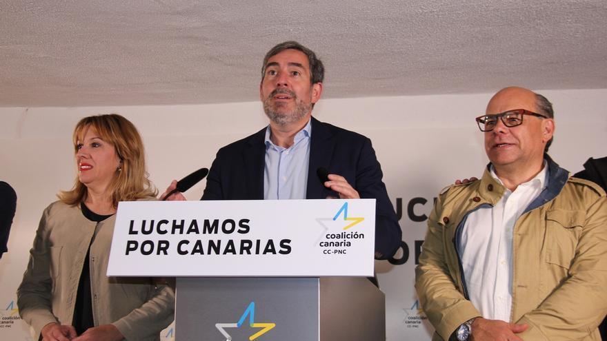 """Clavijo, muy satisfecho con los resultados en Canarias, destaca haber """"frenado en seco"""" a Unidas Podemos"""