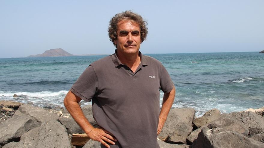Álvaro de Astica, portavoz de Votemos Fuerteventura