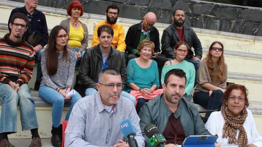 Presentación de Izquierda Unida-Unidad Popular por la provincia de Las Palmas