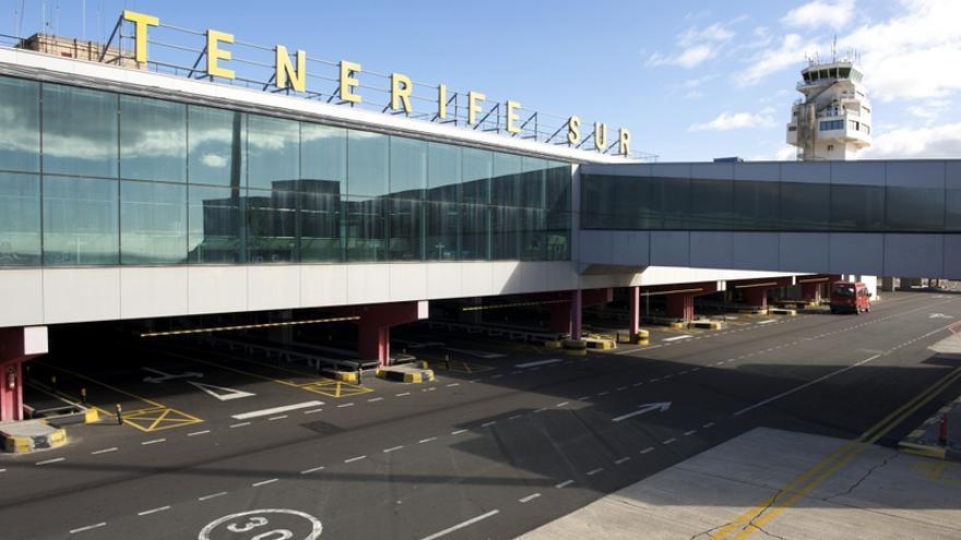 Aeropuerto Tenerife Sur.