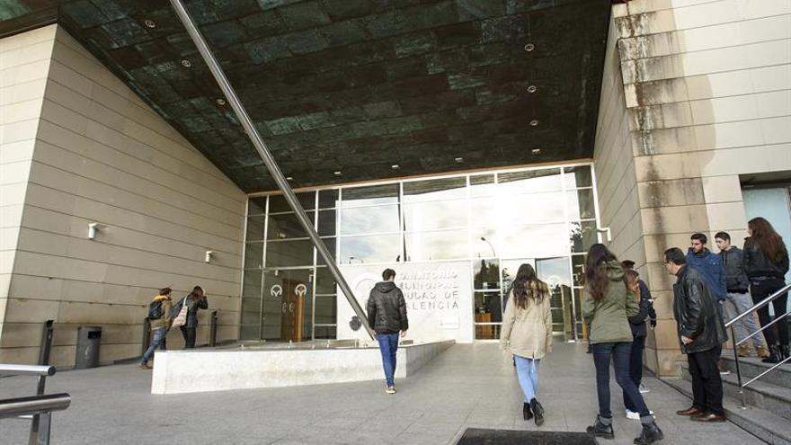 Entrada del tanatorio municipal de València