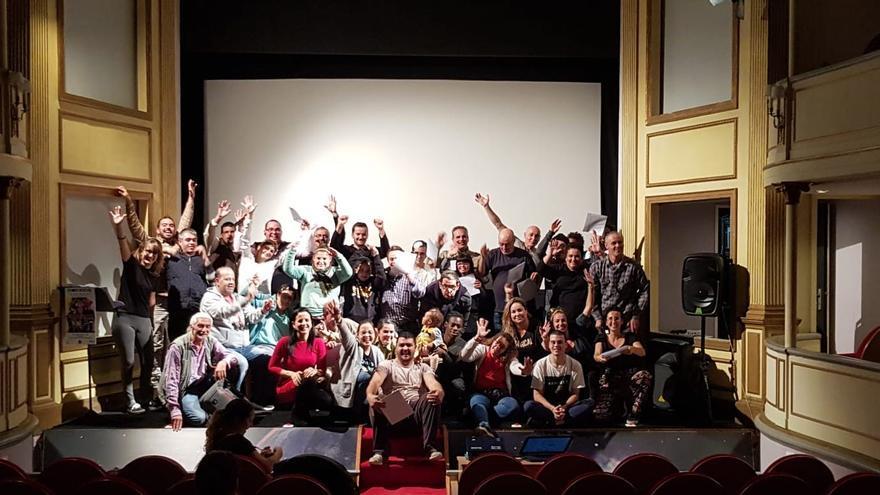 Acto celebrado en el Teatro Chico.