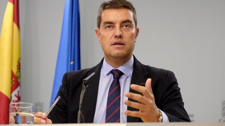 El consejero de Presidencia, Ángel Ibáñez.