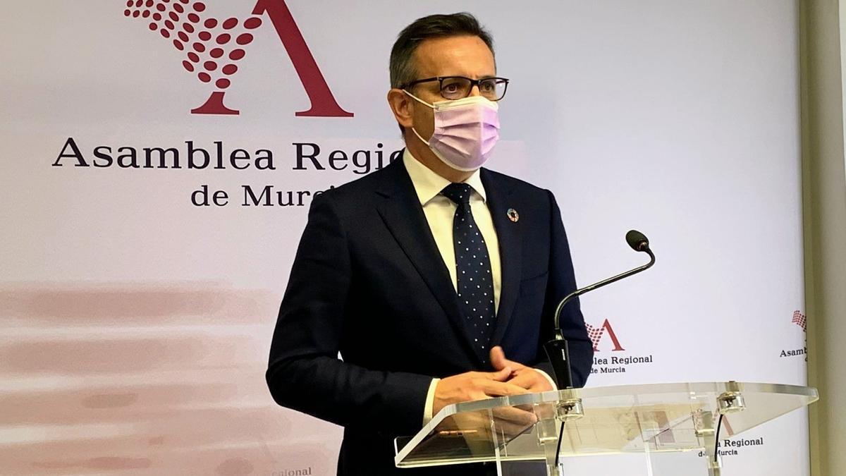 Diego Conesa, secretario general del PSOE-PSRM