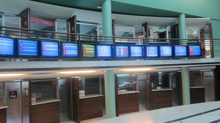 La Bolsa de Bilbao sube 22,18 puntos a media sesión y su índice provisional alcanza el 1.670,81