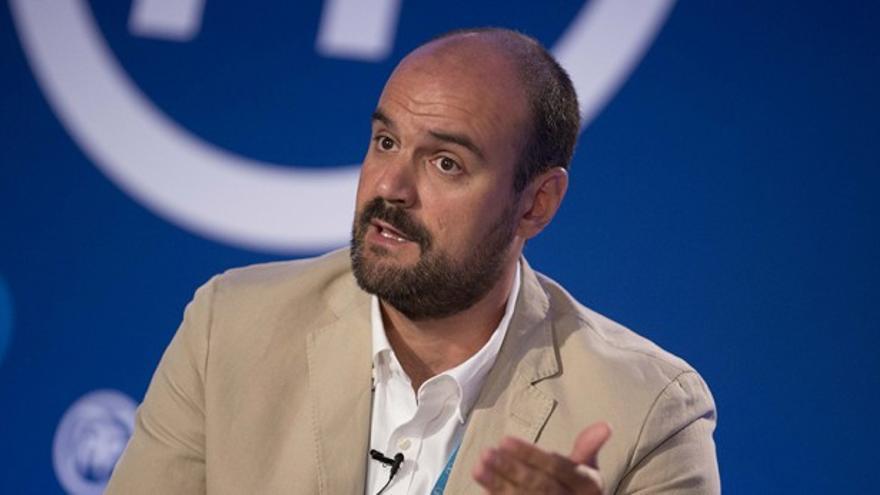 Juan Arza, diputado del PP