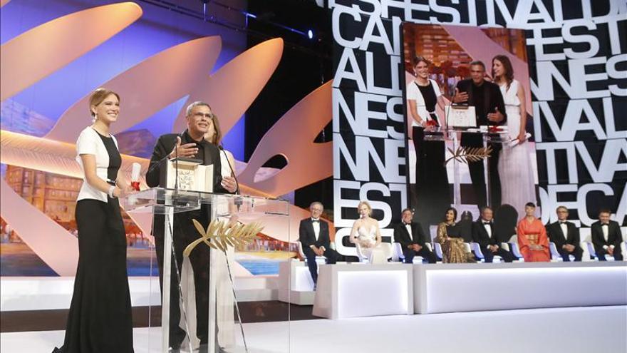 """Cannes premia la libertad en la historia de amor de """"La vie d'Adèle"""""""
