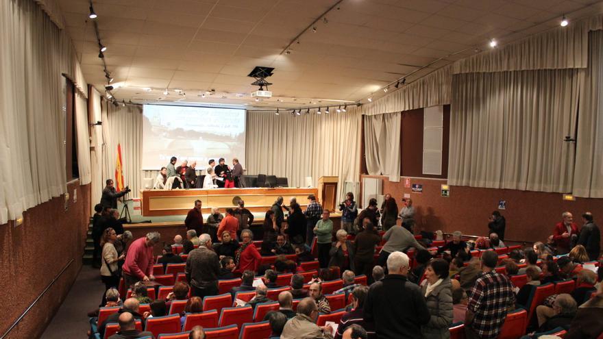 El Paraninfo de la Universidad de Murcia, minutos antes del comienzo de la Asamblea / PSS