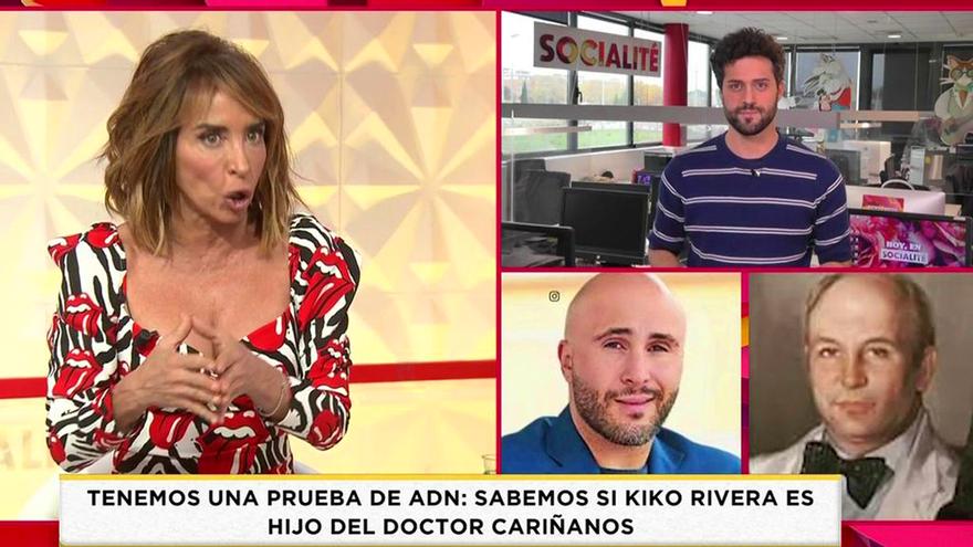 'Socialité' indigna a su audiencia por cebar una noticia de Kiko Rivera publicada en 2018