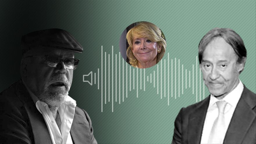Los audios de Villarejo y De la Joya sobre su participación en el caso de la fuga de Esperanza Aguirre