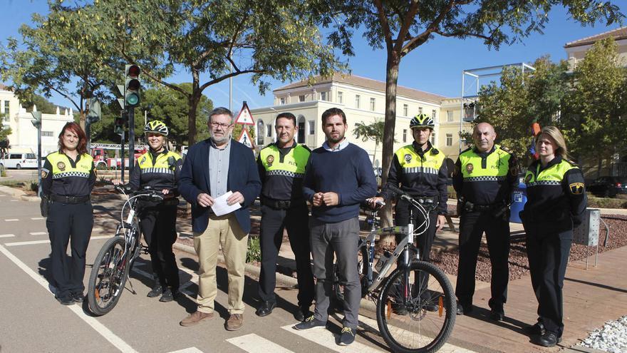 Los agentes de Movilidad Urbana velarán por la seguridad de los jóvenes en los primeros meses