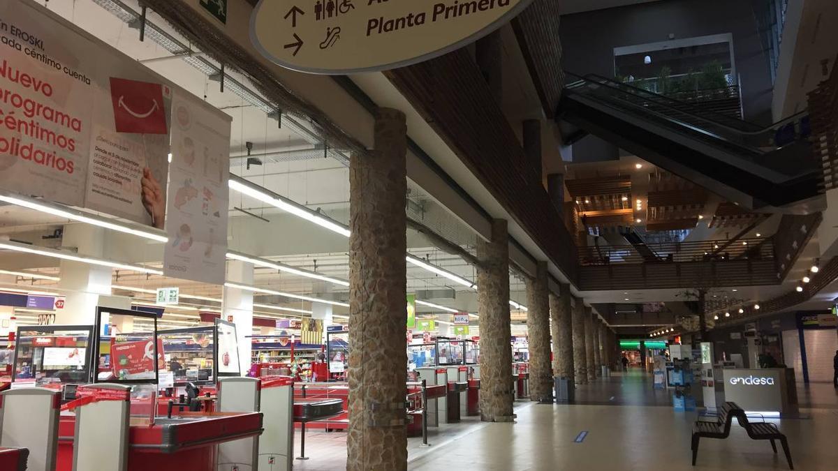 Centro Eroski en Toledo