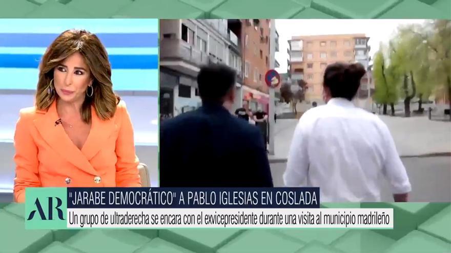 'El programa de AR' y Ana Terradillos, sobre el acoso fascista a Iglesias
