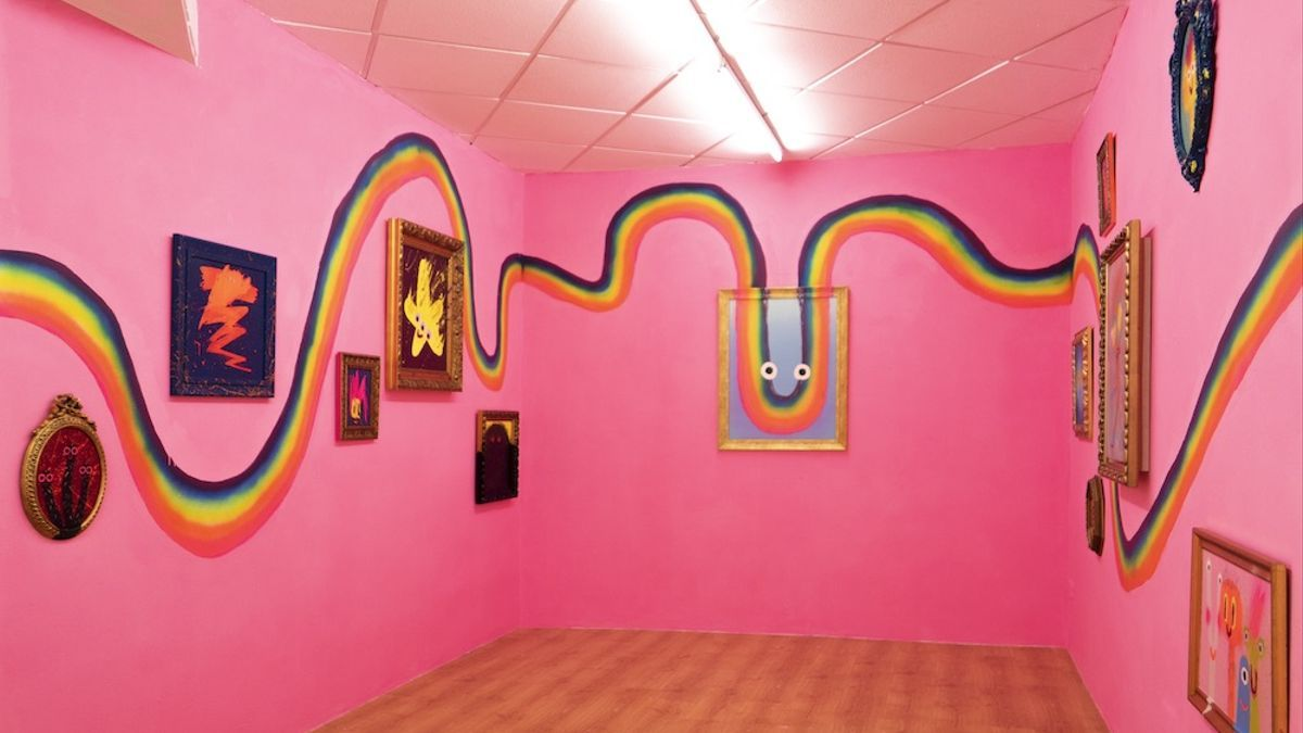 Exposición de Olga de Dios en la Swinton Gallery, en Lavapiés, Madrid.