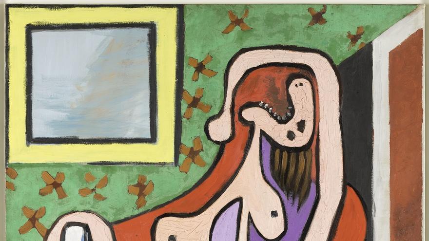 Pablo Picasso (1881-1973). Gran desnudo en un sillón rojo, 5 de mayo de 1929. Musée national Picasso-Paris. ©RMN-Grand Palais / Mathieu Rabeau © Sucesión Pablo Picasso, VEGAP: Madrid, 2019.