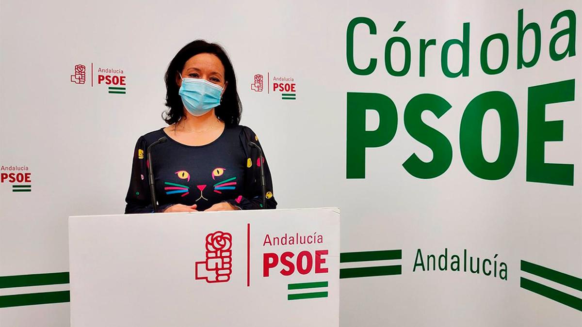 La diputada nacional del PSOE por Córdoba, Rafi Crespín.