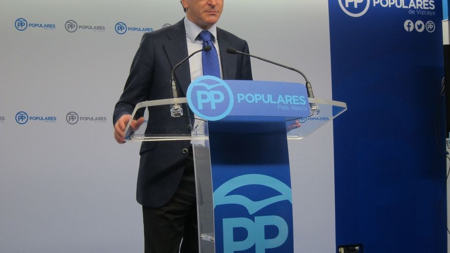 """Alonso (PP) denuncia que en España """"hay una nueva izquierda radical que quiere poner como referente político a  Otegi"""""""