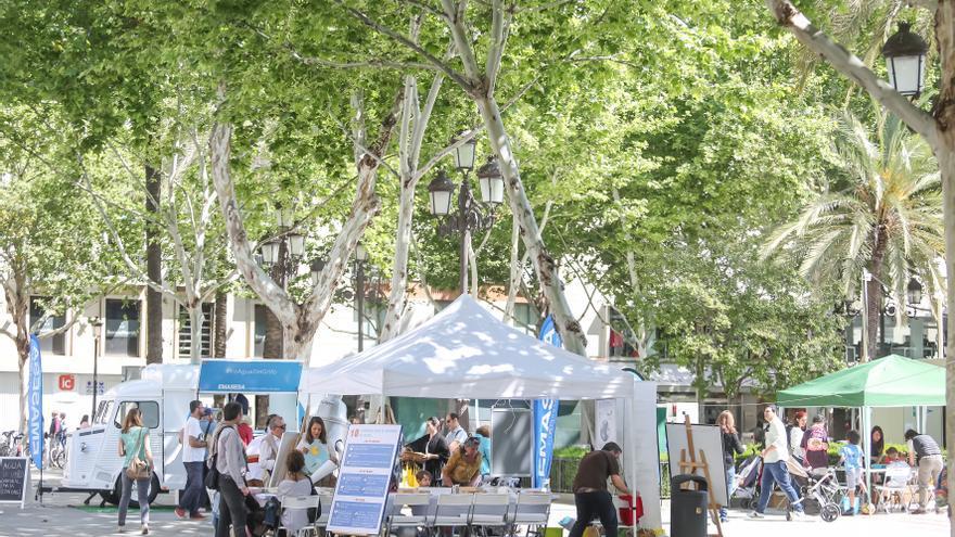 Actividad de Emasesa en la Plaza Nueva