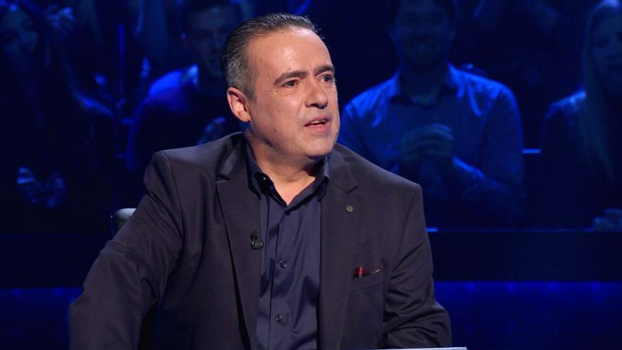 Enrique Chicote, primer y único ganador de '¿Quién quiere ser millonario?'