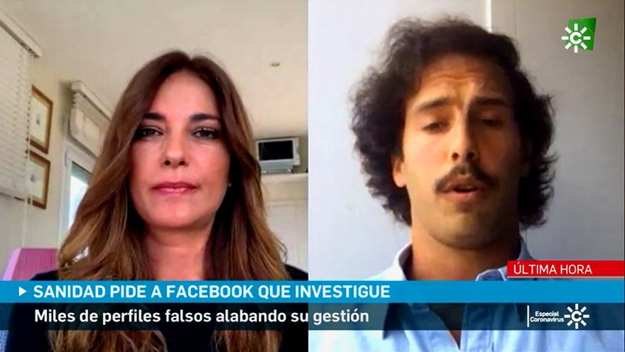 Mariló Montero entrevista a José Luis Iglesias en Canal Sur