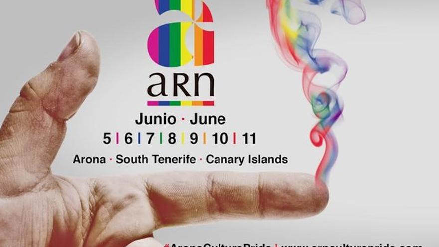 Cartel de la cita ARN Culture, del 5 al 11 de junio de 2017 en Arona