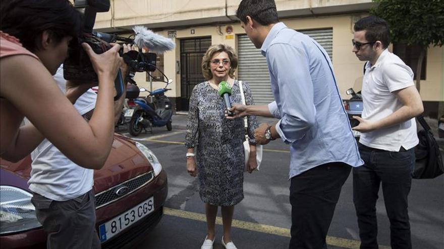 La exconcejal popular en el ayuntamiento de Valencia María José Alcón