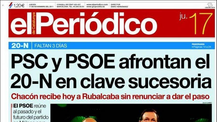 De las portadas del día (17/11/2011) #11