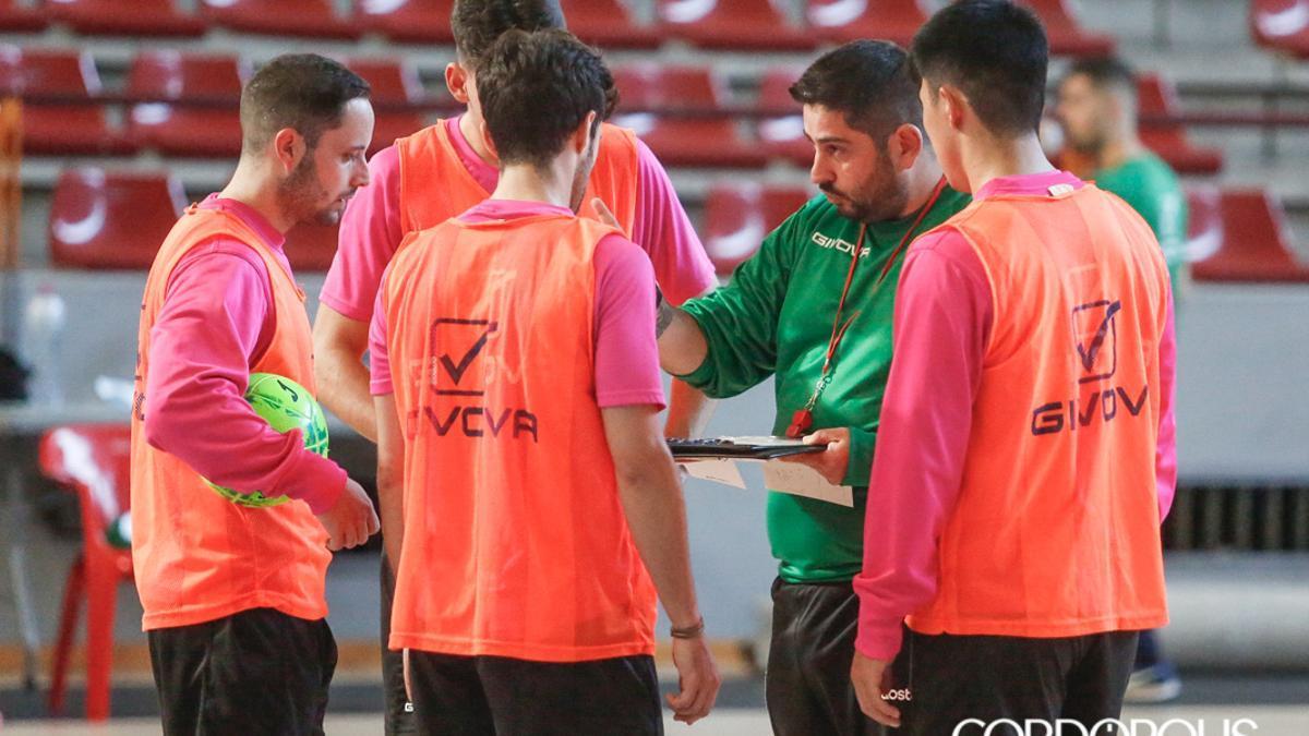 Josan González, en un entrenamiento