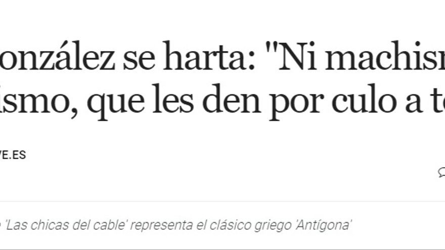 Yon González, en una entrevista para Metropoli