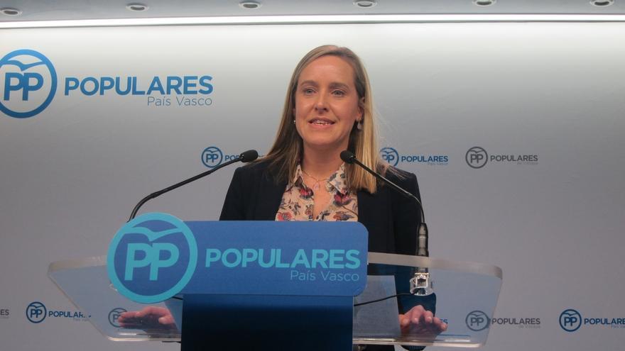 """PP vasco califica de """"foto de la vergüenza"""" el acto de partidos y sindicatos sobre la declaración de desarme"""