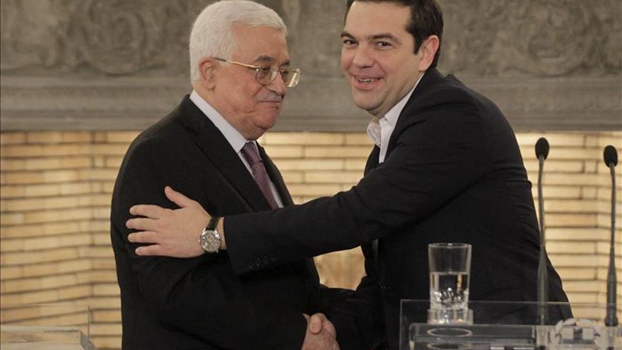 Tsipras reconoce que el reconocimiento oficial de Palestina todavía tardará