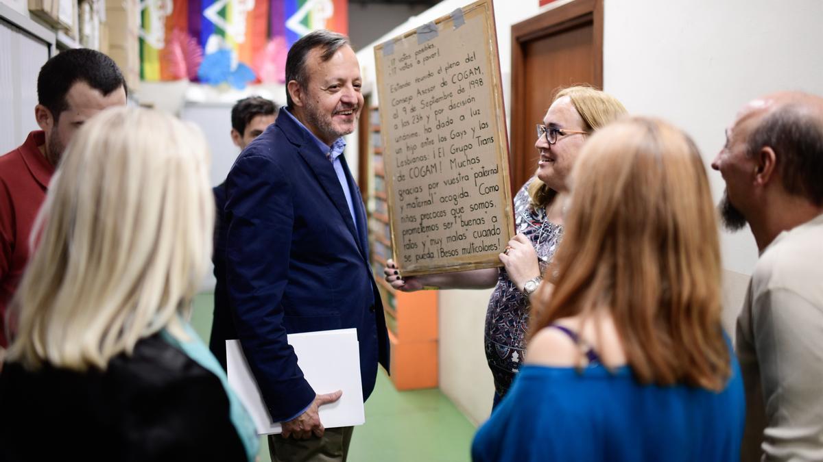 El exconsejero de Políticas Sociales de la Comunidad de Madrid, Alberto Reyero, en una imagen de archivo