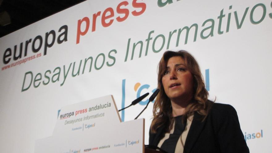 """Susana Díaz ofrece al PP-A participar en la concertación y promete evitar """"mal uso"""" de fondos públicos"""