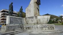 Monumento a Carrero Blanco en Santoña. | ROBERTO ALONSO