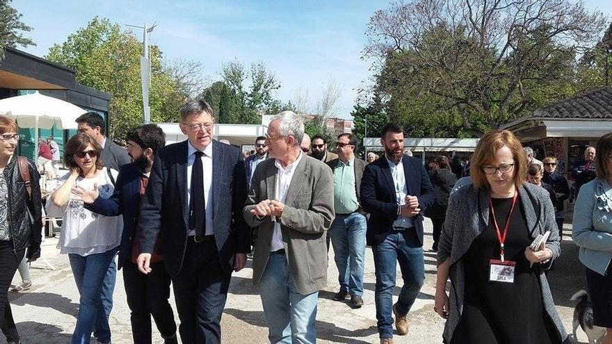 """Puig reclama al PPCV que acuda al acto de rechazo a los PGE y no se """"arrodille"""" frente al PP"""