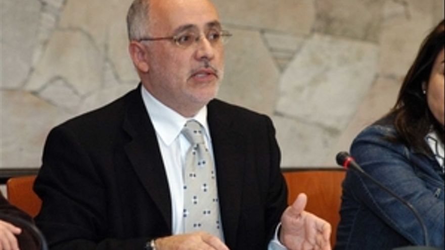 Antonio Morales, alcalde de Agüimes.