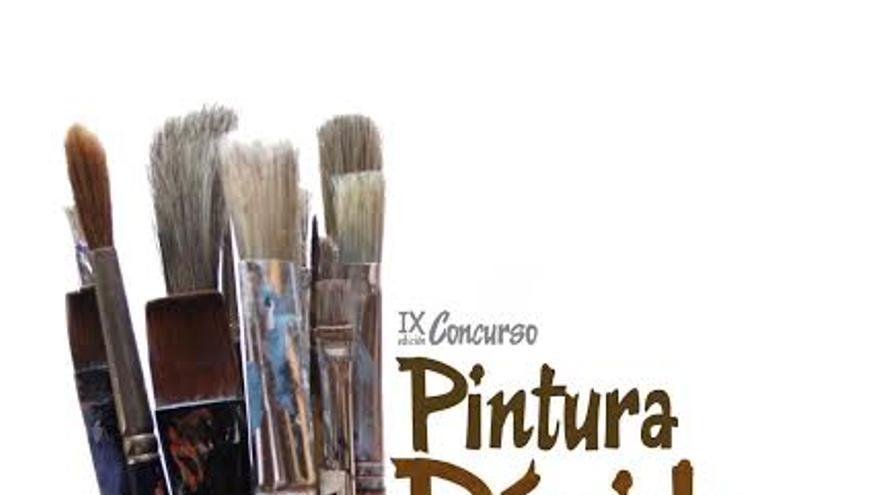 Cartel de la novena edición del Concurso de Pintura Rápida Francisco Concepción.