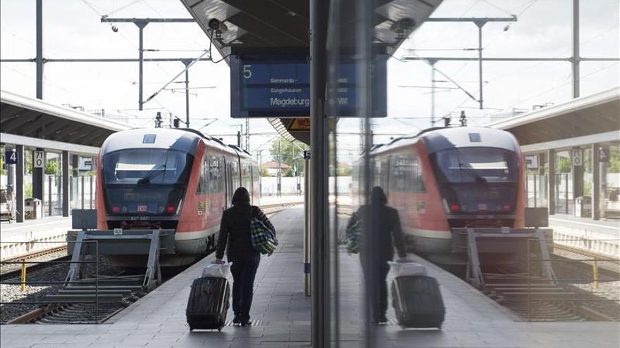 Comienza la nueva huelga de maquinistas alemanes en los trenes de pasajeros