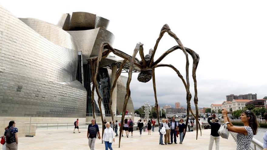 El Guggenheim Bilbao recibió 1,2 millones de visitas, en su tercer mejor año