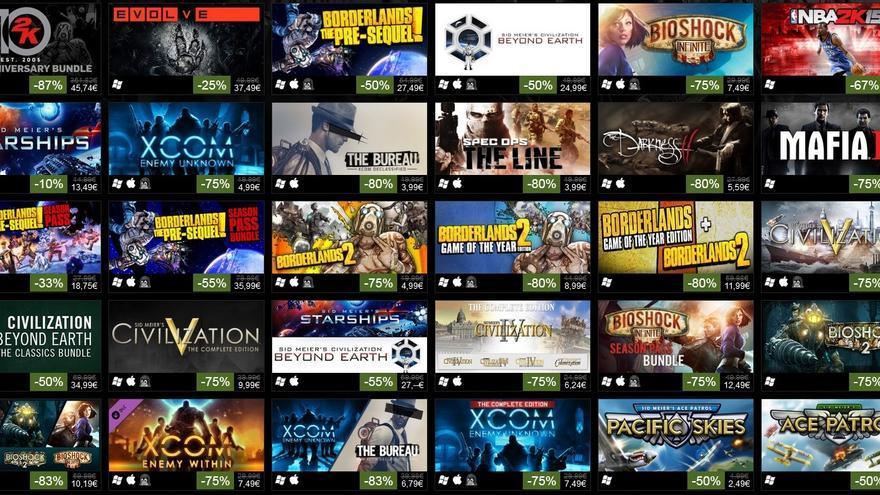 2K games Steam