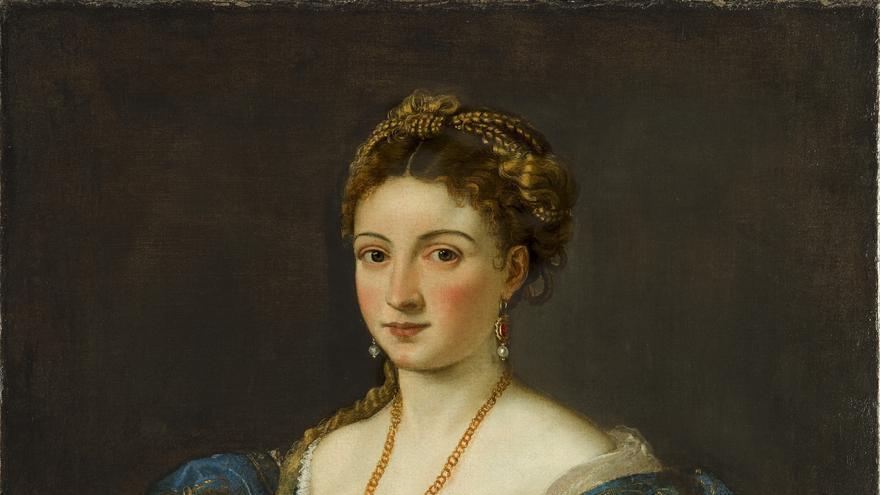 'Retrato de una mujer' (Tiziano Vecellio)