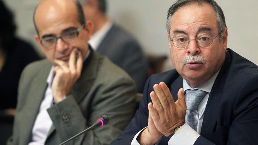 El consejero de Obras Públicas y Política Territorial del Gobierno de Canarias, Domingo Berriel. EFE/Cristóbal García
